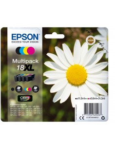 Epson Daisy Multipack 4-colours 18XL Claria Home Ink Epson C13T18164022 - 1