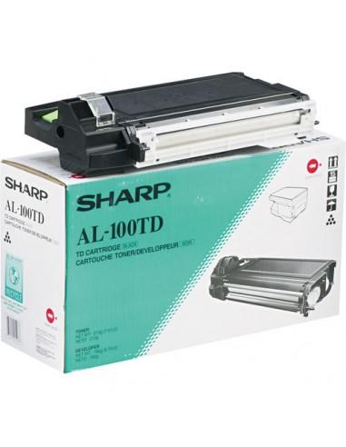Sharp AL-100TD värikasetti 1 kpl Alkuperäinen Musta Sharp AL100TD - 1