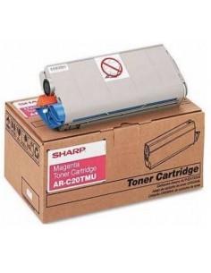 Sharp AR-C20TMU Tonerkassett 1 styck Original Magenta Sharp AR-C20TMU - 1