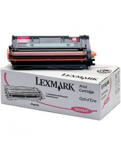 Lexmark 10E0041 toner cartridge 1 pc(s) Original Magenta Lexmark 10E0041 - 1