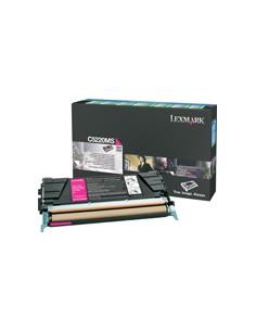 Lexmark C522, C524, C53x Magenta Return Program Toner Cartridge Alkuperäinen Lexmark C522RMS - 1