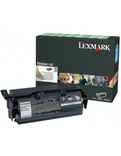 Lexmark T650H11E värikasetti Alkuperäinen Musta 1 kpl Lexmark T650H11E - 1