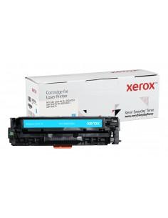 Xerox Vakiokapasiteetti Syaani Everyday-värikasetti Xeroxilta, HP CE411A -yhteensopiva, 2600 sivua- (006R03804) Xerox 006R03804
