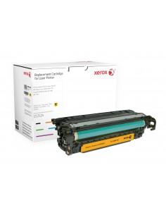 Xerox Värikasetti, keltainen. Vastaa tuotetta HP CE252A. Yhteensopiva avec Colour LaserJet CM3530 MFP, CP3525-tulostimen kanssa