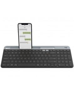 Logitech K580 näppäimistö RF Wireless + Bluetooth Tanska, Suomi, Norjalainen, Ruotsi Grafiitti Logitech 920-009274 - 1