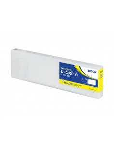 Epson SJIC30P(Y): Ink cartridge for ColorWorks C7500G (Yellow) Epson C33S020642 - 1