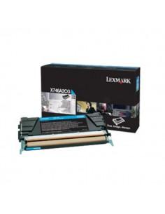 Lexmark X746A3 C 1 kpl Alkuperäinen Syaani Lexmark X746A3CG - 1