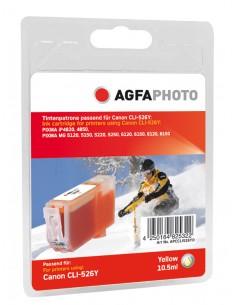 AgfaPhoto APCCLI526YD mustekasetti Keltainen 1 kpl Agfaphoto APCCLI526YD - 1