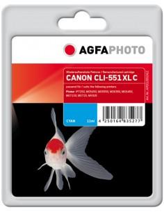 AgfaPhoto APCCLI551XLC mustekasetti Syaani 1 kpl Agfaphoto APCCLI551XLC - 1