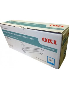 OKI 01247403 värikasetti Alkuperäinen Syaani 1 kpl Oki 01247403 - 1