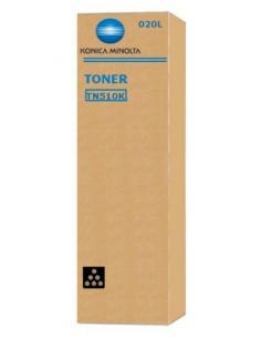 Konica Minolta TN-510K Alkuperäinen Musta 1 kpl Konica Minolta A0YM151 - 1