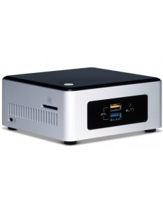 Intel BOXNUC5PPYH datorhölje & moderkort UCFF Silver, Svart BGA 1170 N3700 1.6 GHz Intel NUC5PPYH - 1