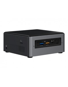 Intel NUC NUC7I3BNHX1 Musta, Harmaa BGA 1356 i3-7100U 2.4 GHz Intel NUC7I3BNHX1 - 1
