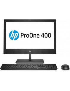 "HP ProOne 400 G4 50.8 cm (20"") 1600 x 900 pixlar 8:e generationens Intel® Core™ i5 8 GB DDR4-SDRAM 256 SSD Windows 10 Pro Wi-Fi"