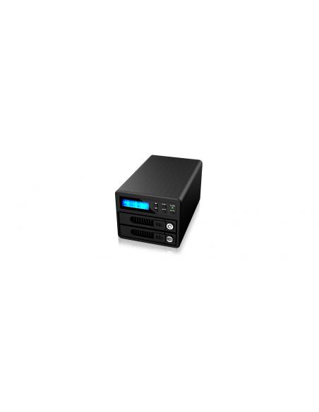 RaidSonic GR3680-SB3 tallennusaseman telakointiasema USB 3.2 Gen 1 (3.1 1) Type-B Musta Raidsonic Technology Gmbh GR3680-SB3 - 2