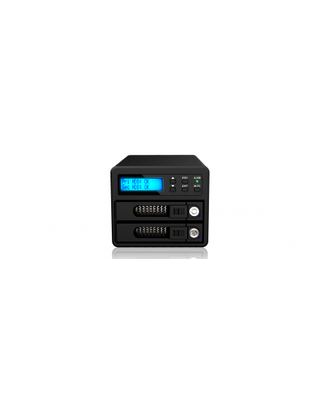 RaidSonic GR3680-SB3 tallennusaseman telakointiasema USB 3.2 Gen 1 (3.1 1) Type-B Musta Raidsonic Technology Gmbh GR3680-SB3 - 4
