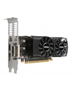 MSI V809-2404R näytönohjain NVIDIA GeForce GTX 1050 Ti 4 GB GDDR5 Msi V809-2404R - 1