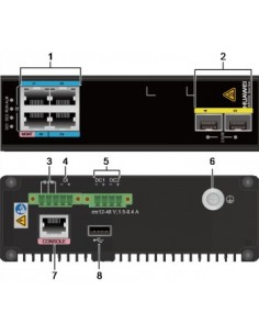 Huawei Ar550c-4ge,2*sfp Wan 2.5ge,4*ge Huawei 50010300 - 1