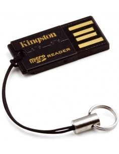 Kingston Technology FCR-MRG2 kortinlukija USB 2.0 Musta Kingston FCR-MRG2 - 1