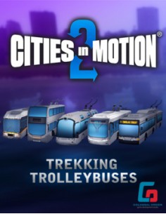 Paradox Interactive Cities in Motion 2: Trekking Trolleys, PC/Mac/Linux Videopelin ladattava sisältö (DLC) Englanti Paradox Inte