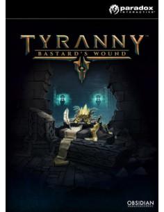 Paradox Interactive Tyranny - Bastard's Wound, PC Videopelin ladattava sisältö (DLC) PC/Mac/Linux Englanti Paradox Interactive 8