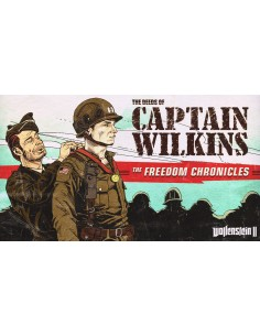 Bethesda Wolfenstein II:The Deeds of Captain Wilkins Videopelin ladattava sisältö (DLC) PC Englanti Bethesda Softworks 833720 -