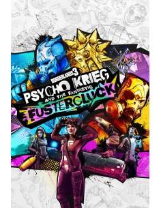 2K Borderlands 3: Psycho Krieg and the Fantastic Fustercluck Videopelin lisäosa PC Englanti 2k Games 861279 - 1