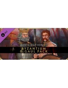 2K Sid Meier's Civilization VI: Byzantium & Gaul Pack Videopelin ladattava sisältö (DLC) PC Englanti 2k Games 861496 - 1