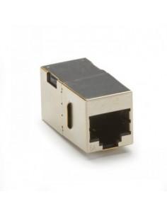 Black Box Blackbox Cat6a Shielded Couplers - Straight-pinned, Black Box C6ACP71S-SV-10PAK - 1