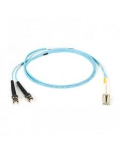 Black Box Blackbox Om3 Patch Cable 50µm (lz0h) - Aqua, Mu – Lc Black Box EFE361-020M-AQ - 1