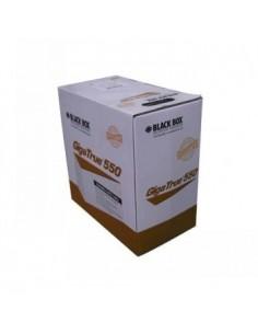Black Box Blackbox Gigatrue® Cat6 550mhz Utp Lszh Bulk Cable - Black Box EYNLS648AW-PB-1000 - 1