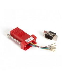 Black Box Blackbox Coloured Modular Adapters - Red, Rj-45 F/db9 M Black Box FA4509M-RD - 1