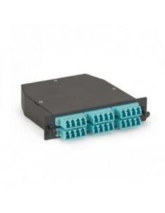 Black Box Blackbox Om3 50-micron Multimode Fiber Optic Cassettes, Black Box FOCA20M3-2MP12-24LC - 1