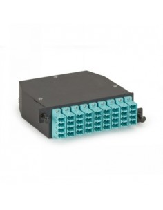 Black Box Blackbox Om3 Hd Fiber Optic Cassette, (3x12) Strand Black Box FOCA20M3-3MP12-36LC - 1