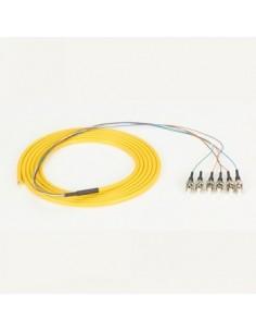 Black Box Blackbox Fo Single-mode Pigtails Os2 Yellow - 6 Fibers, Black Box FOPT50S1-ST-6YL-3 - 1