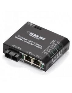 Black Box Blackbox Media Converter Switches - Singlemode, Sc, 24 Black Box LBH100A-PD-SSC-24 - 1