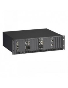 Black Box Blackbox High-density Media Conversion System Ii, (2) Dc Black Box LMC5208A-R3 - 1