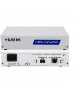Black Box Blackbox 10/100/1000base-t Twisted Pair To 1000base-sx Black Box LMCU500-DC - 1