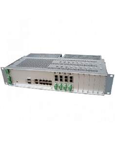 Black Box Blackbox Dsl Maximinilink Chassis - Chassis, 4 Wires, Black Box MDS916A - 1