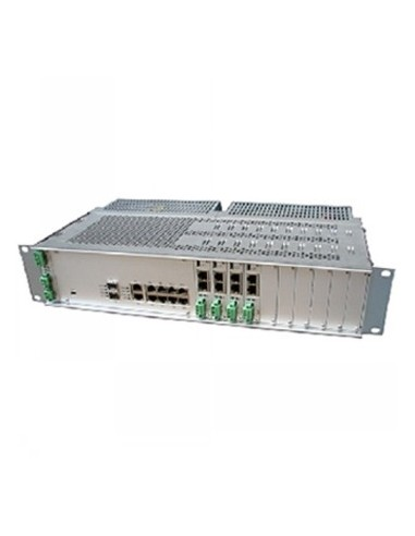 Black Box Blackbox Dsl Maximinilink Chassis - Chassis, 4 Wires, Black Box MDS916A-DC - 1