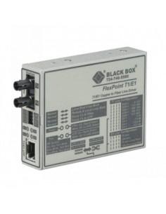 Black Box Blackbox Flexpoint E1/t1 To Fibre Converter - Multimode, Black Box MT660A-MM-E - 1
