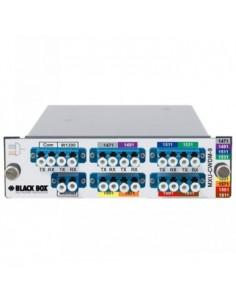 Black Box Blackbox Cwdm Fibre Mux - 8 + 1 Black Box MXU-CWDM-9 - 1