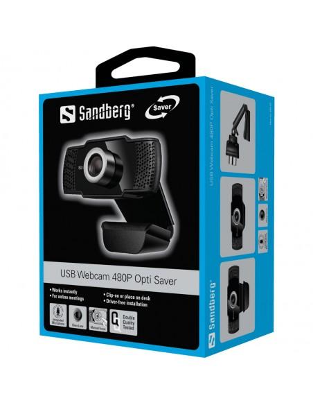Sandberg 333-97 webbkameror 640 x 480 pixlar USB 2.0 Svart Sandberg 333-97 - 5