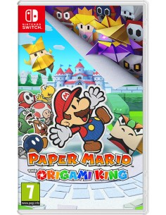 Nintendo Paper Mario: The Origami King Switch Perus Englanti Nintendo 10004548 - 1