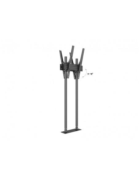 """Multibrackets 8977 kyltin näyttökiinnike 2.29 m (90"""") Musta Multibrackets 7350073738977 - 7"""
