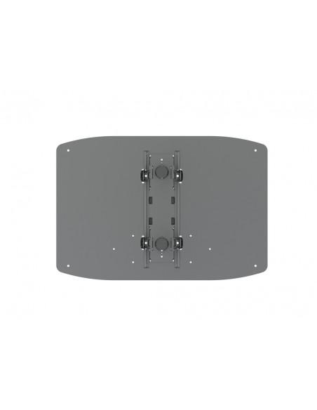 """Multibrackets 8984 kyltin näyttökiinnike 2.29 m (90"""") Musta Multibrackets 7350073738984 - 5"""