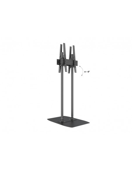 "Multibrackets M Dual Pole Floorbase Pro B2B 65""-90"" Multibrackets 7350073738984 - 8"