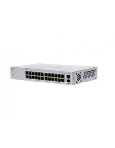 Cisco CBS110 Hallitsematon L2 Gigabit Ethernet (10/100/1000) 1U Harmaa Cisco CBS110-24T-EU - 1