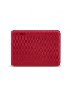 Toshiba Canvio Advance ulkoinen kovalevy 2000 GB Punainen Toshiba HDTCA20ER3AA - 1