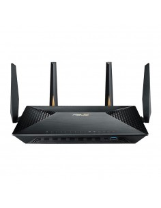 ASUS BRT-AC828 wireless router Gigabit Ethernet Dual-band (2.4 GHz / 5 GHz) Black Asus 90IG01T0-BU2000 - 1